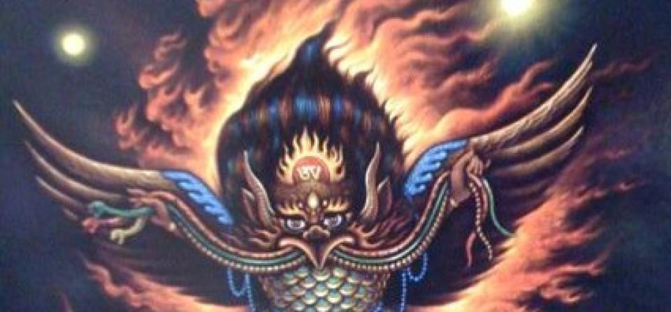 Khyung Garuda ཁྲོཾ